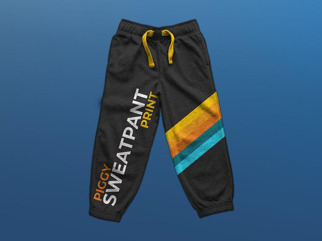 Branded 3/4 length sweatpant